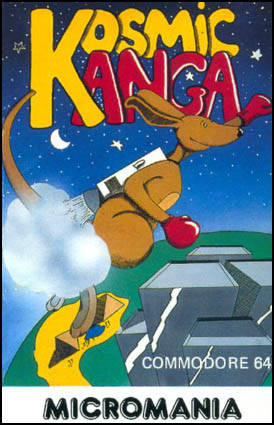 Kosmic Kanga - Commodore 64 | Retro1UP Game