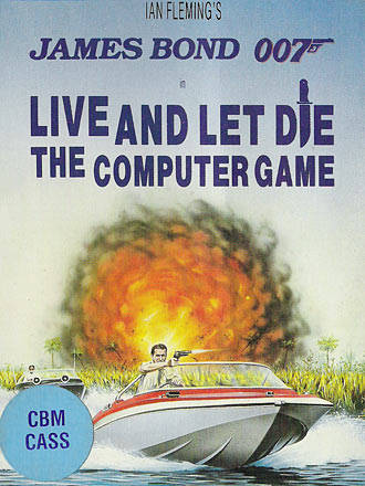 James Bond 007: Live and Let Die - Commodore 64 | Retro1UP Game