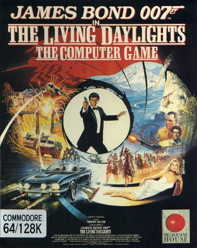 James Bond 007: The Living Daylights - The Computer Game - Commodore 64 | Retro1UP Game