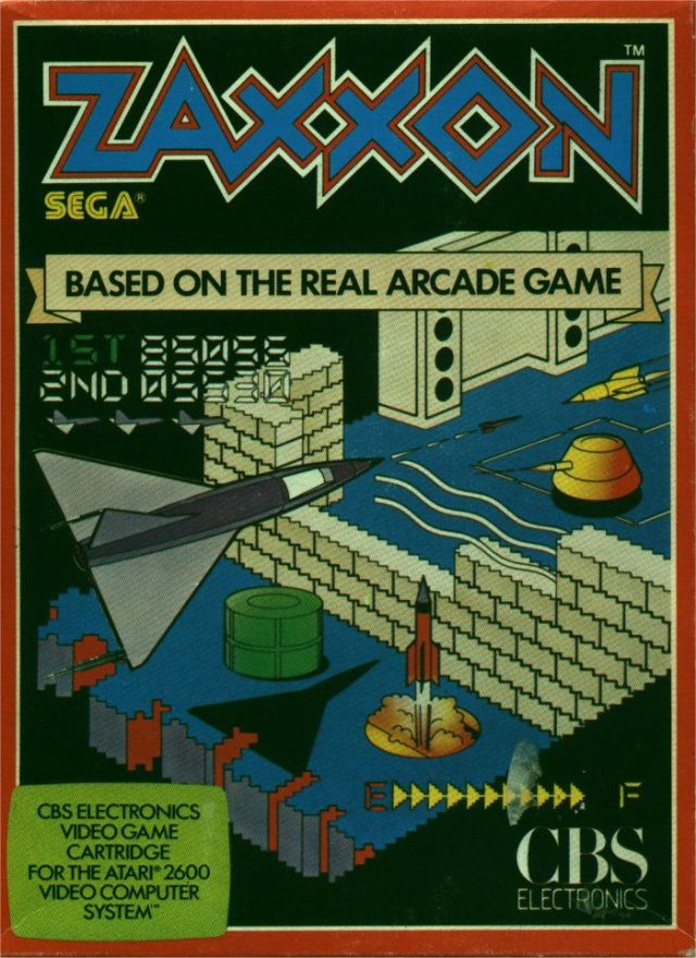 Zaxxon - Atari 2600 | Retro1UP Game