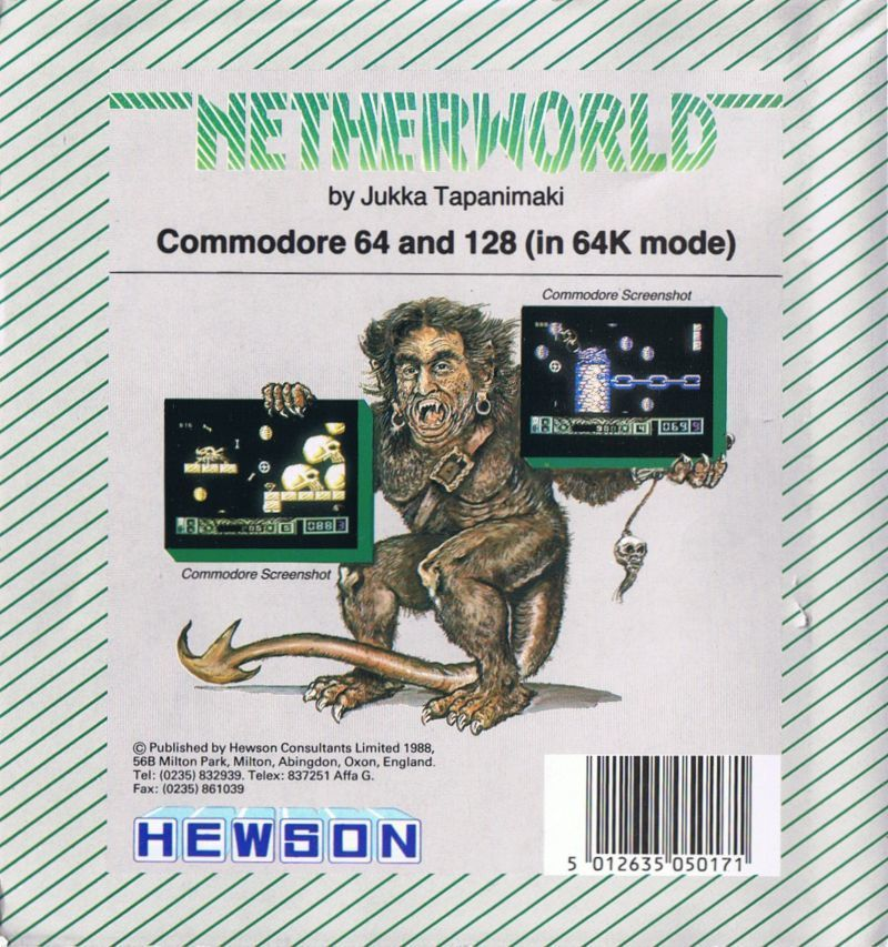 Netherworld - Commodore 64 | Retro1UP Game