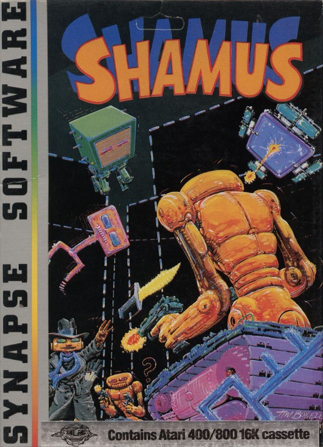 Shamus - Atari 8-bit | Retro1UP Game