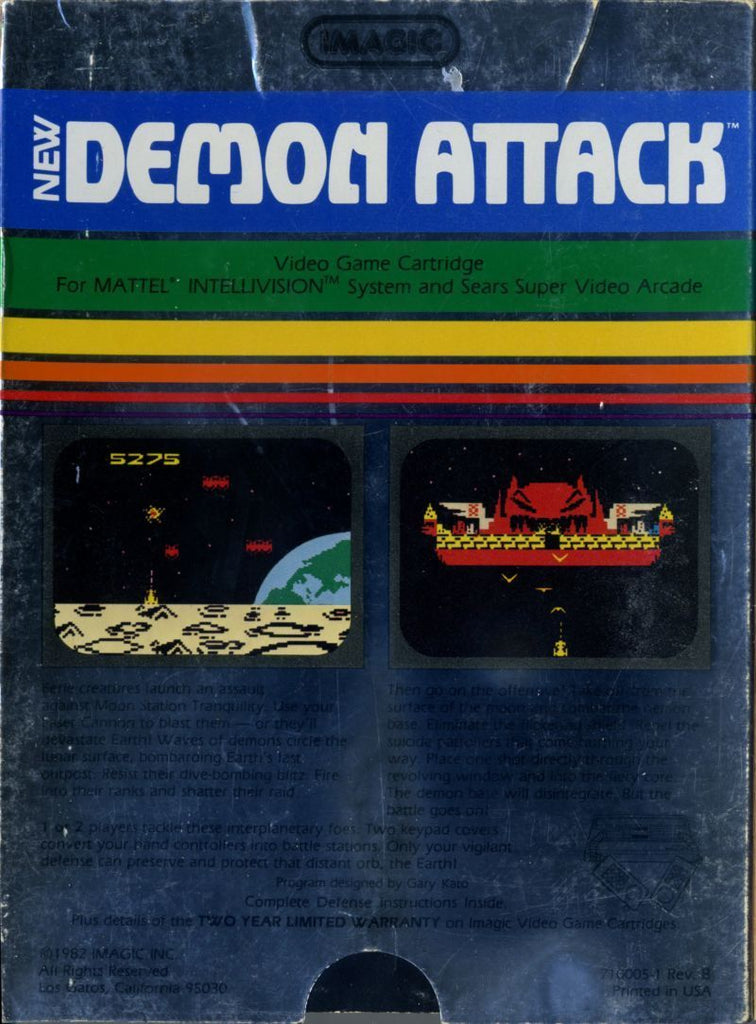 Demon Attack - Intellivision | Retro1UP Game