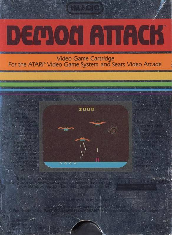 Demon Attack - Atari 2600 | Retro1UP Game