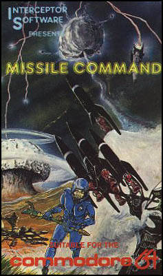 Missile Command - Commodore 64 | Retro1UP Game