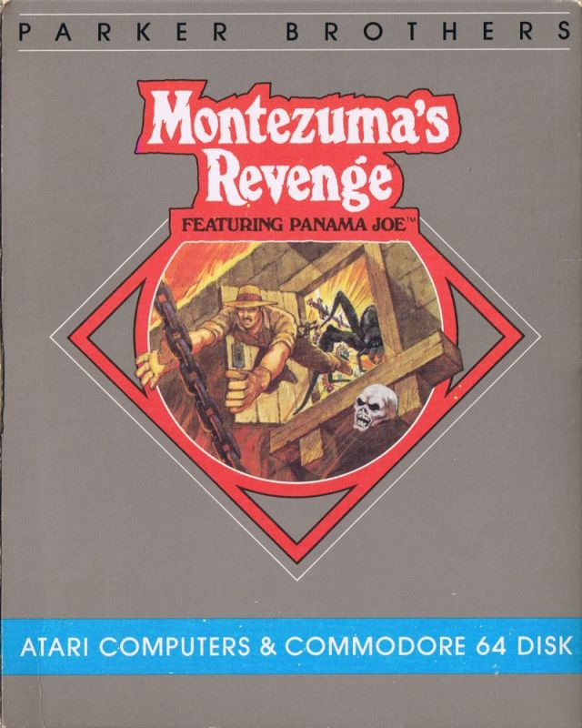 Montezuma's Revenge - Atari 8-bit | Retro1UP Game