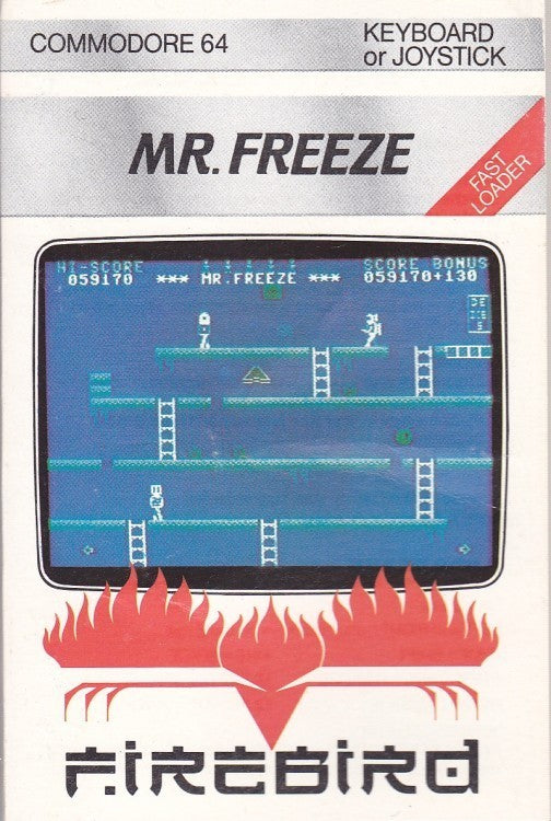 Mr. Freeze - Commodore 64 | Retro1UP Game