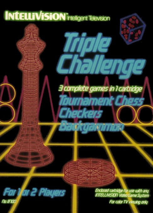 Triple Challenge - Intellivision | Retro1UP Game