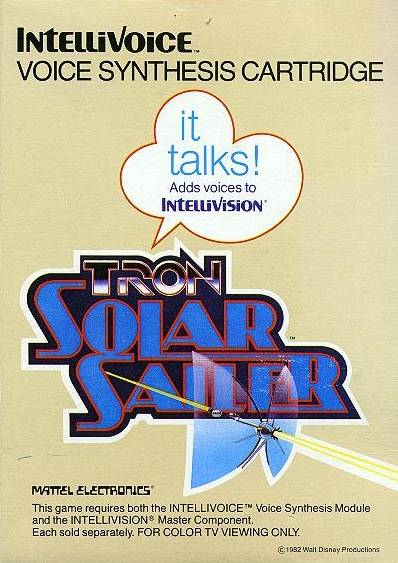 Tron: Solar Sailer - Intellivision | Retro1UP Game