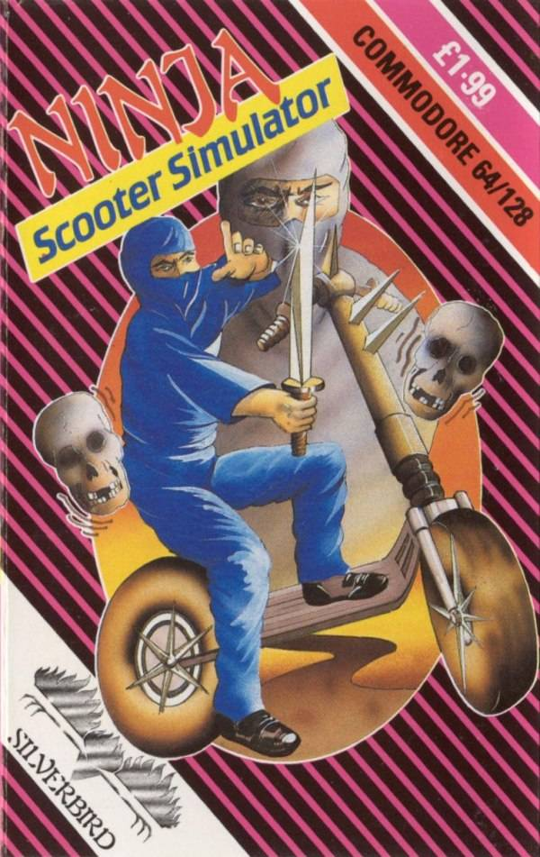 Ninja Scooter Simulator - Commodore 64 | Retro1UP Game