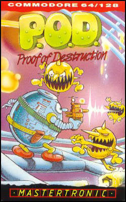 P.O.D. - Proof of Destruction - Commodore 64 | Retro1UP Game