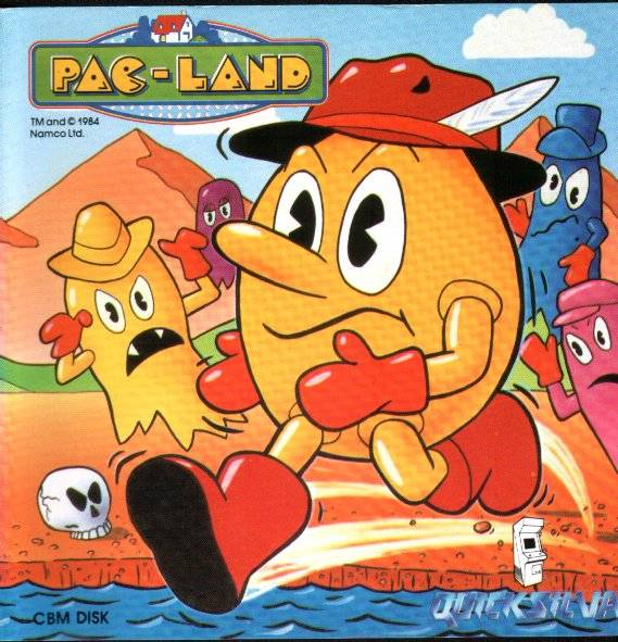 Pac-Land - Commodore 64 | Retro1UP Game