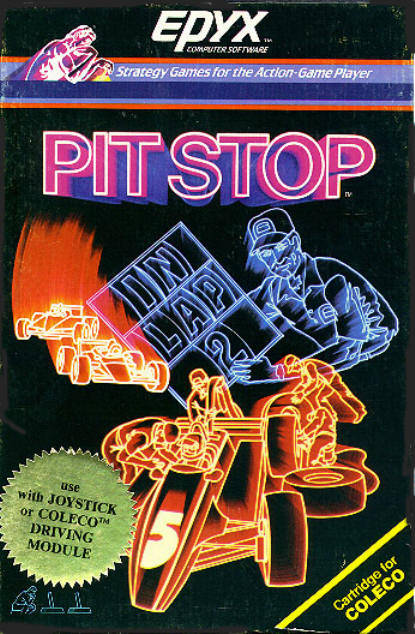 Pitstop - Colecovision | Retro1UP Game