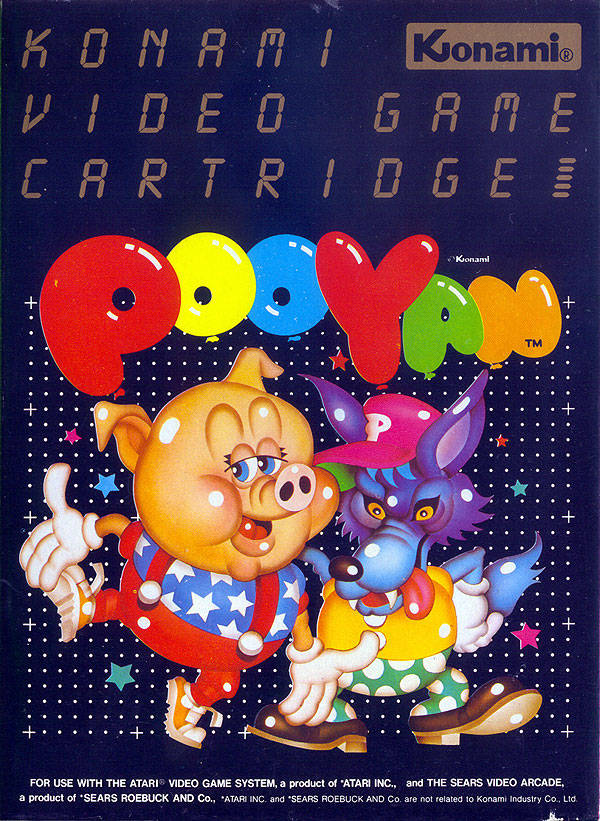 Pooyan - Atari 2600 | Retro1UP Game