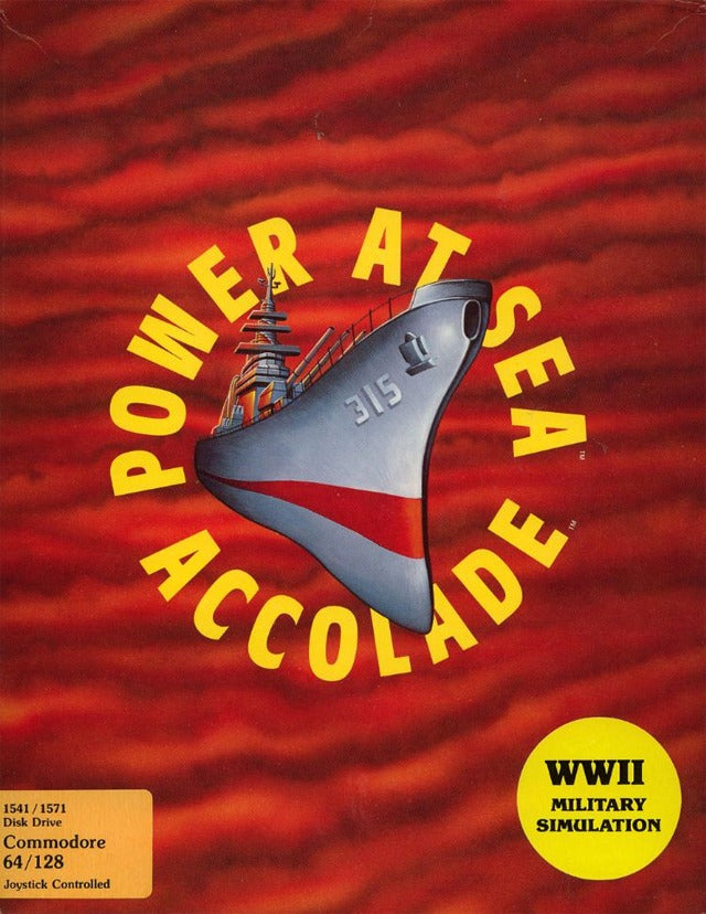 Power at Sea - Commodore 64 | Retro1UP Game