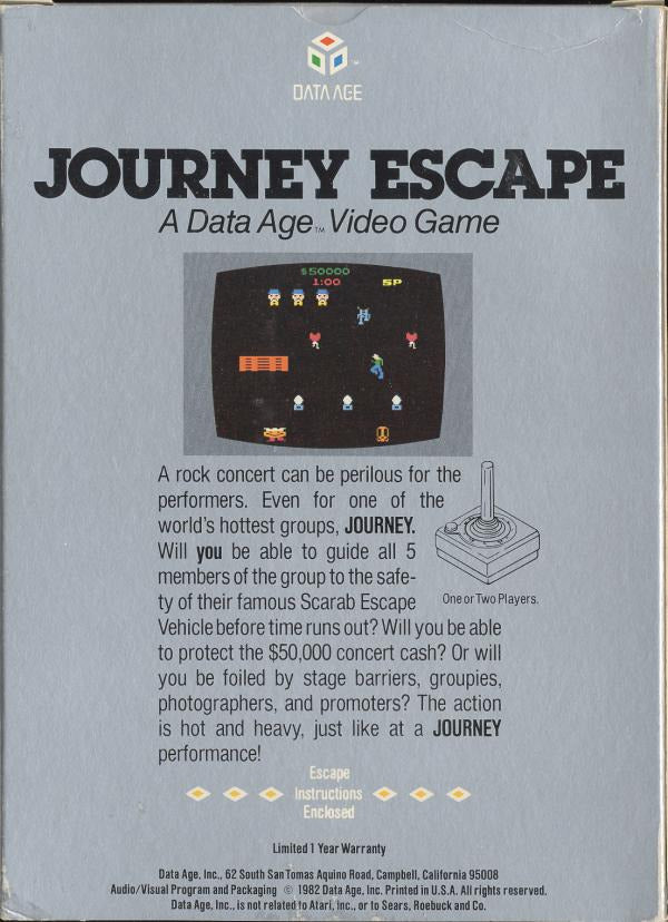 Journey Escape - Atari 2600 | Retro1UP Game