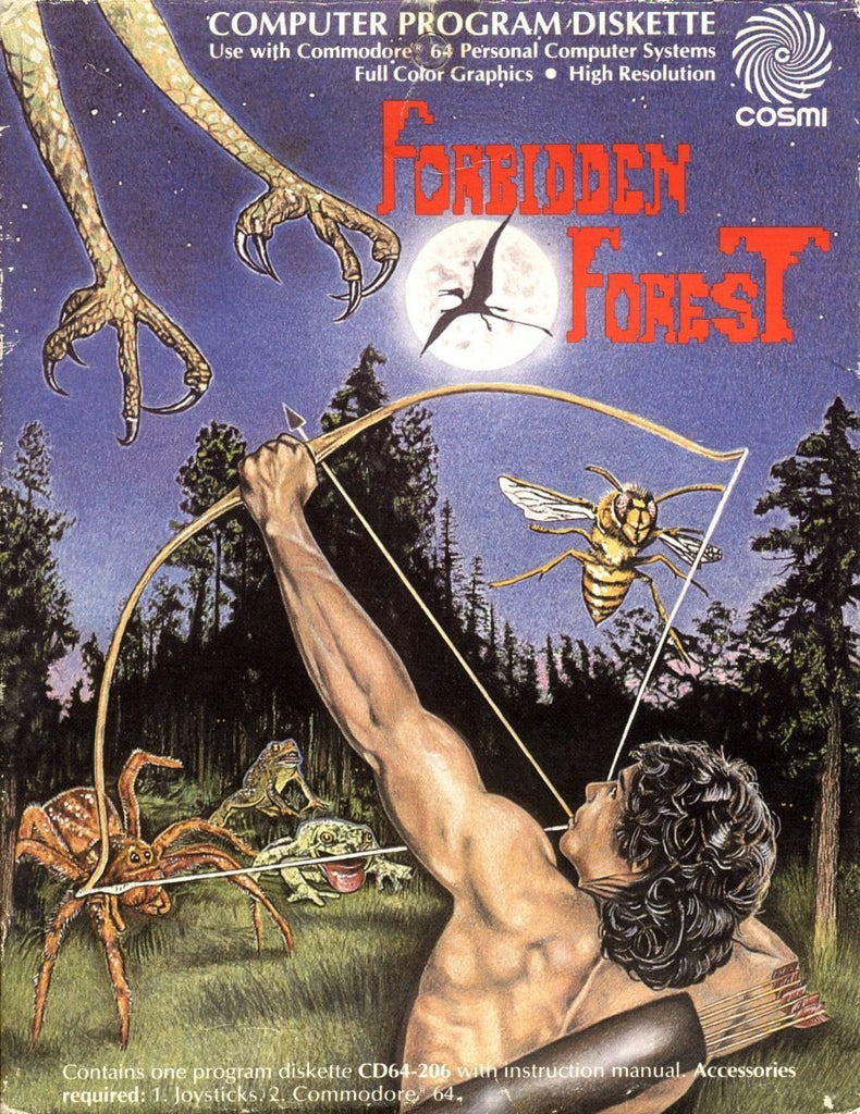 The Forbidden Forest - Commodore 64 | Retro1UP Game
