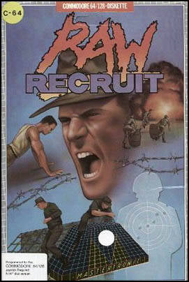 Raw Recruit - Commodore 64 | Retro1UP Game