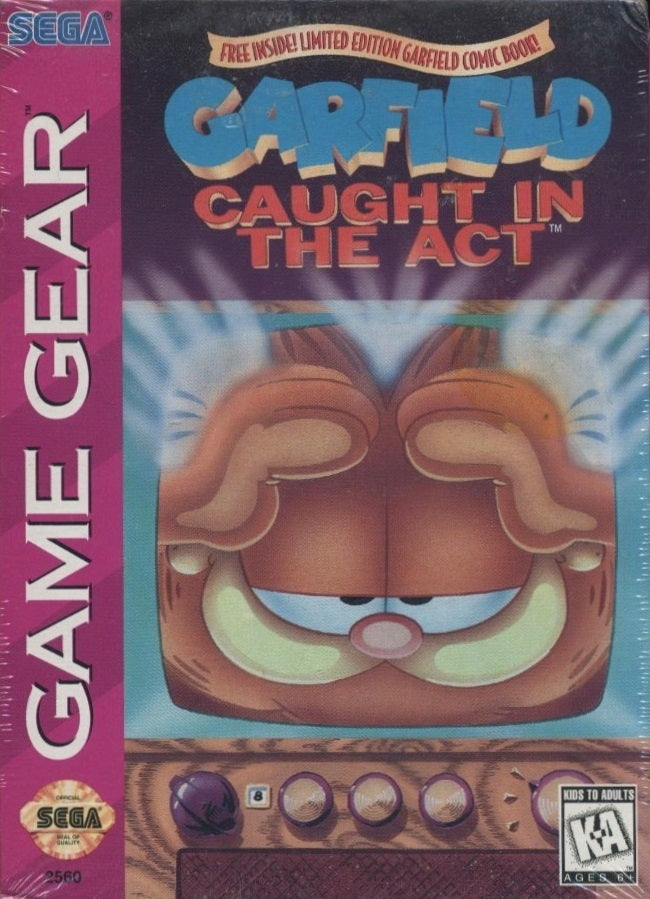 Garfield: Caught in the Act - GameGear | Retro1UP Game