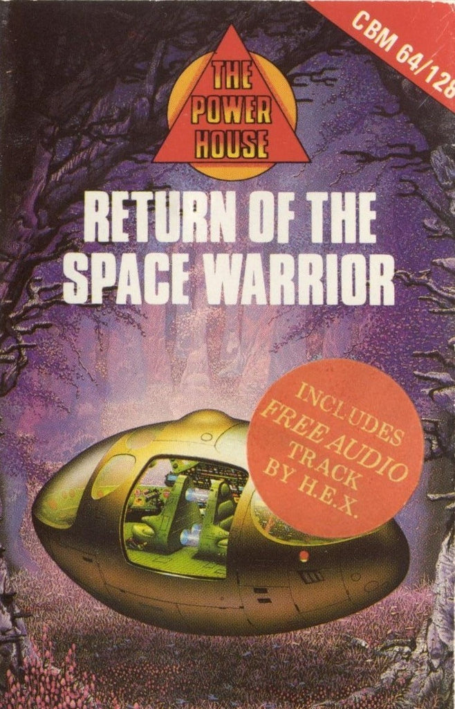 Return of the Space Warrior - Commodore 64 | Retro1UP Game