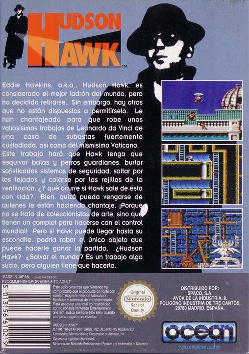 Hudson Hawk - NES | Retro1UP Game