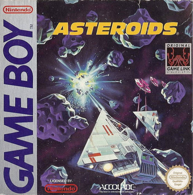 Asteroids - Game Boy | Retro1UP Game