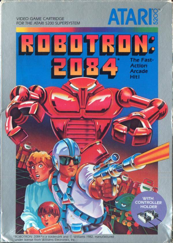Robotron: 2084 - Atari 5200 | Retro1UP Game