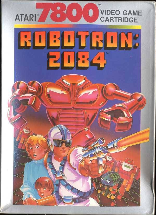 Robotron: 2084 - Atari 7800 | Retro1UP Game