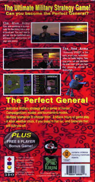 The Perfect General - 3DO | Retro1UP Game