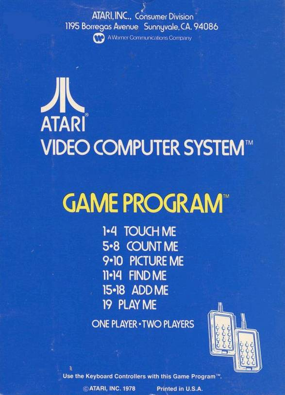 Brain Games - Atari 2600 | Retro1UP Game