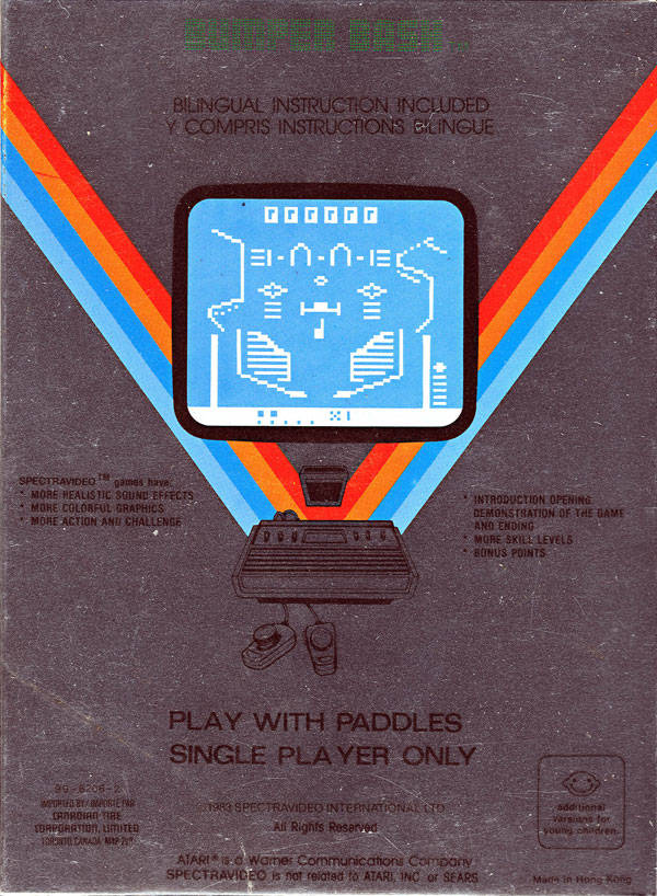 Bumper Bash - Atari 2600 | Retro1UP Game