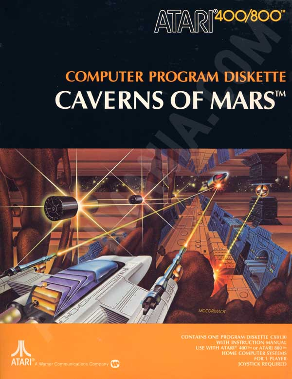 Caverns of Mars - Atari 8-bit | Retro1UP Game