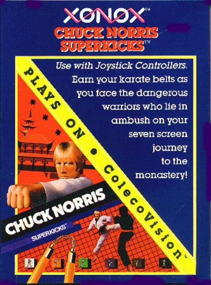 Chuck Norris Superkicks - Colecovision | Retro1UP Game