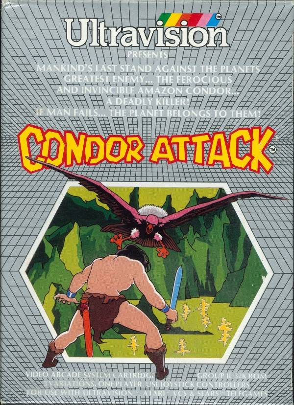 Condor Attack - Atari 2600 | Retro1UP Game