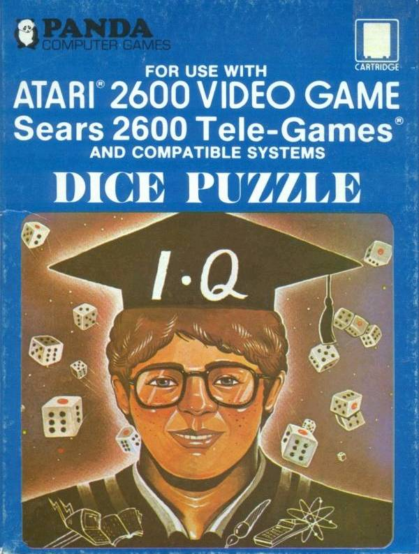 Dice Puzzle - Atari 2600 | Retro1UP Game