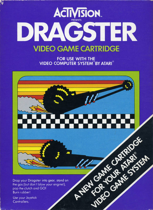Dragster - Atari 2600 | Retro1UP Game
