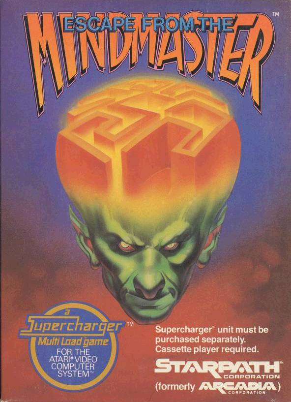 Escape From The Mindmaster - Atari 2600 | Retro1UP Game