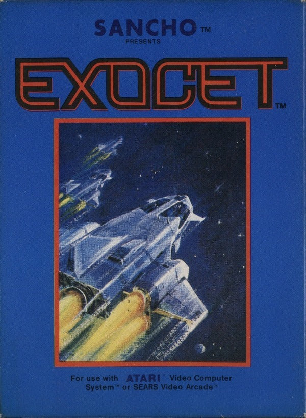 Exocet (or Sancho) - Atari 2600 | Retro1UP Game
