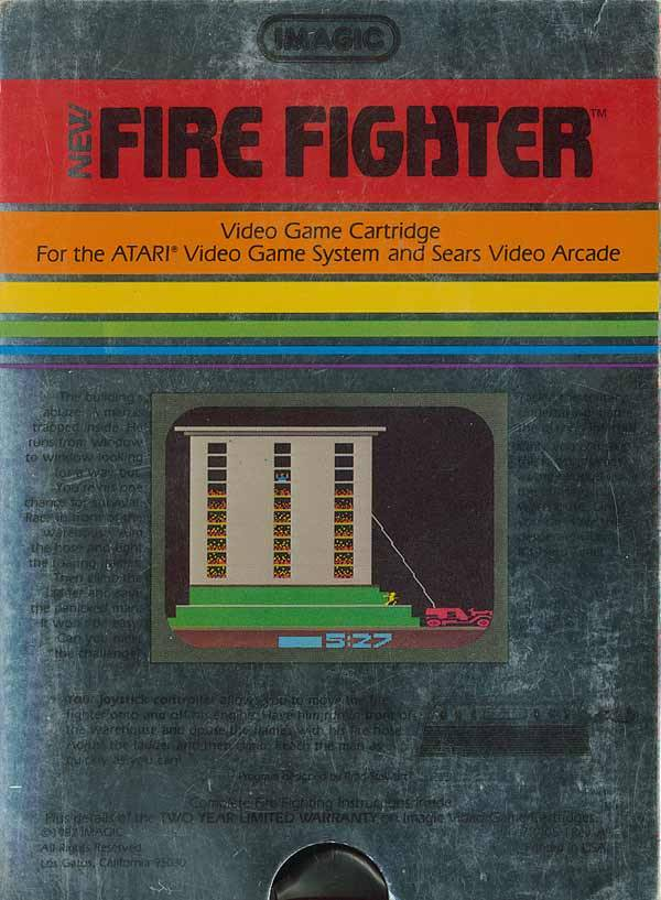 Fire Fighter - Atari 2600 | Retro1UP Game