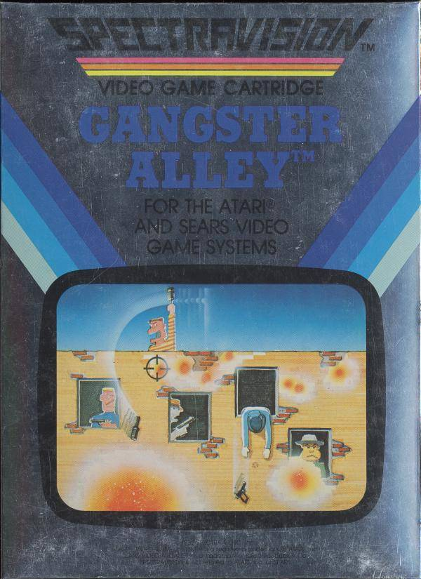 Gangster Alley - Atari 2600 | Retro1UP Game