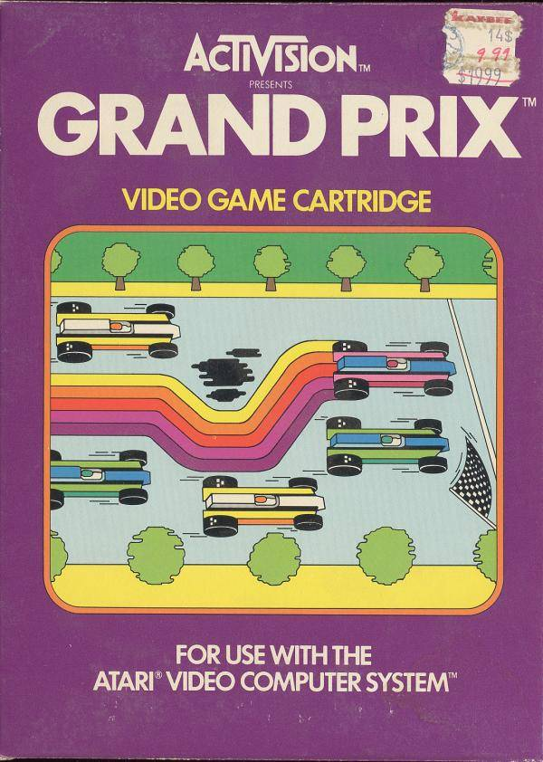 Grand Prix - Atari 2600 | Retro1UP Game