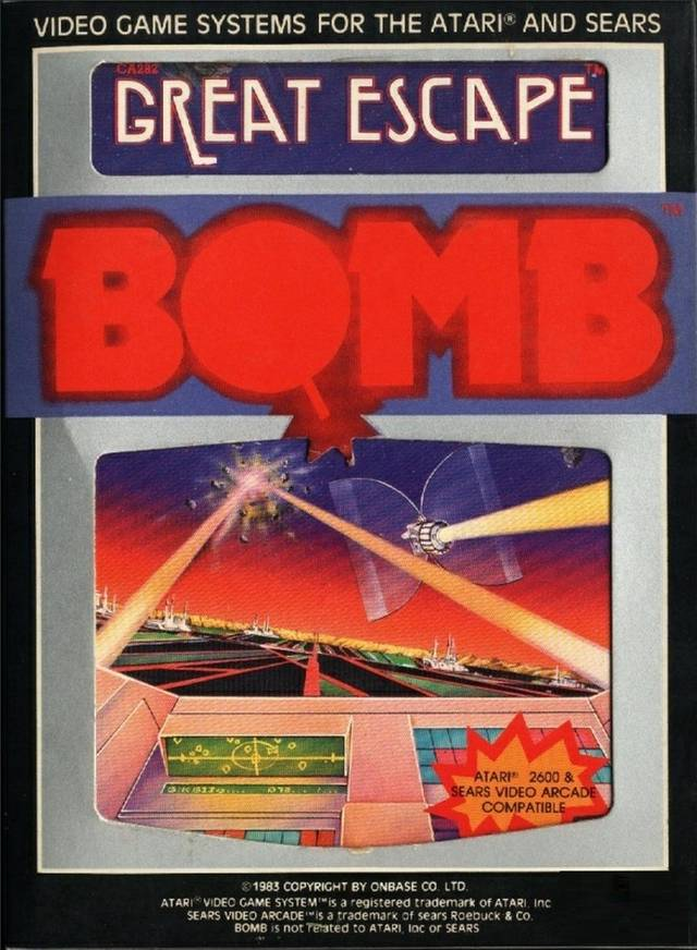 Great Escape - Atari 2600 | Retro1UP Game