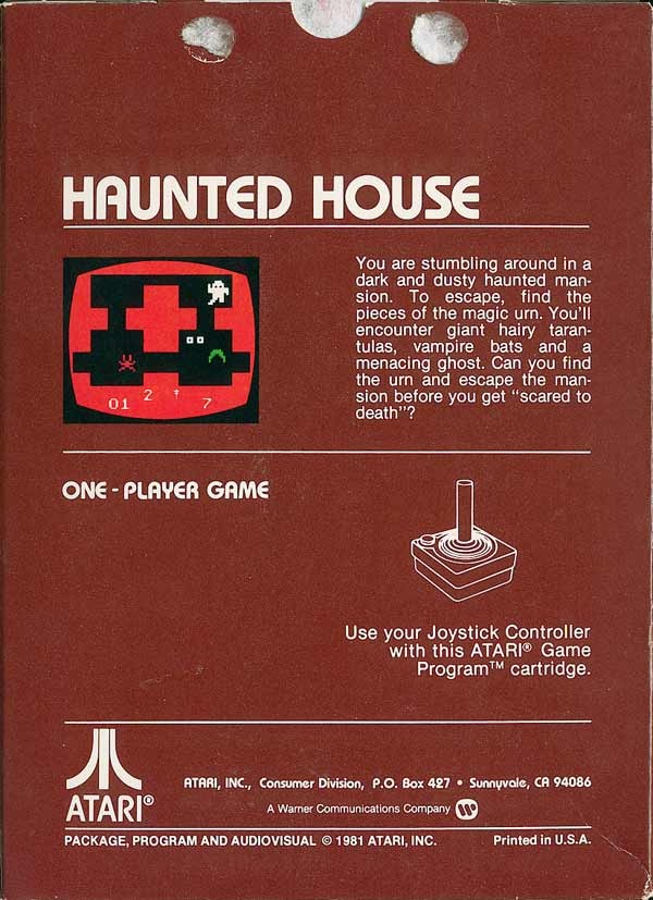 Haunted House - Atari 2600 | Retro1UP Game