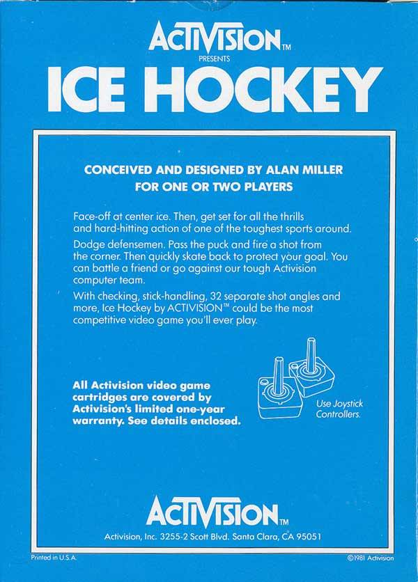 Ice Hockey - Atari 2600 | Retro1UP Game