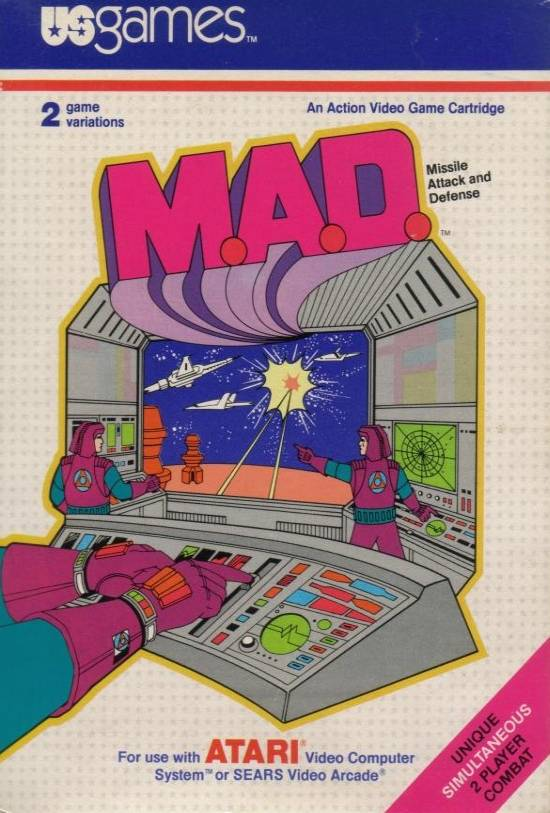 M.A.D. - Atari 2600 | Retro1UP Game