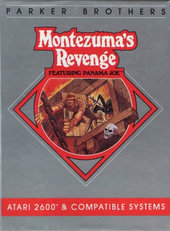 Montezuma's Revenge: Featuring Panama Joe - Atari 2600 | Retro1UP Game