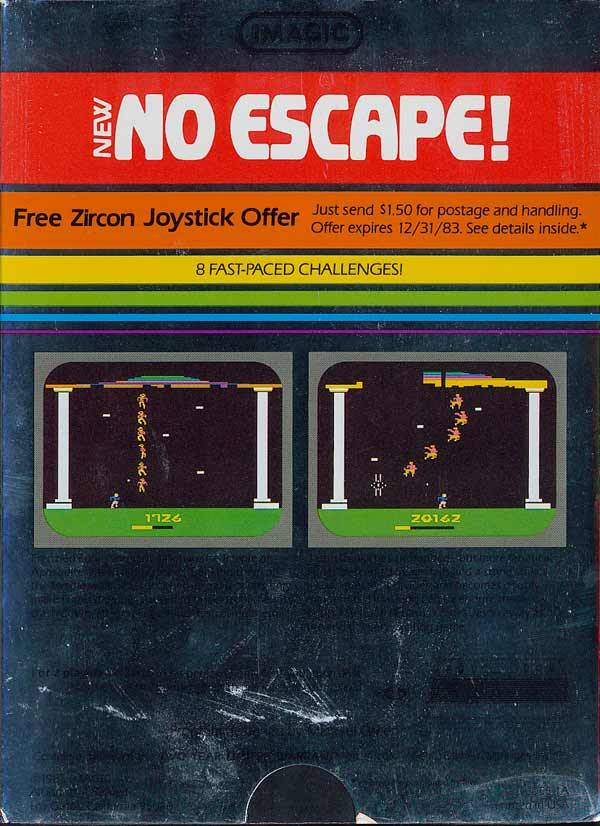 No Escape! - Atari 2600 | Retro1UP Game