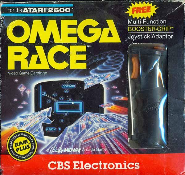 Omega Race - Atari 2600 | Retro1UP Game