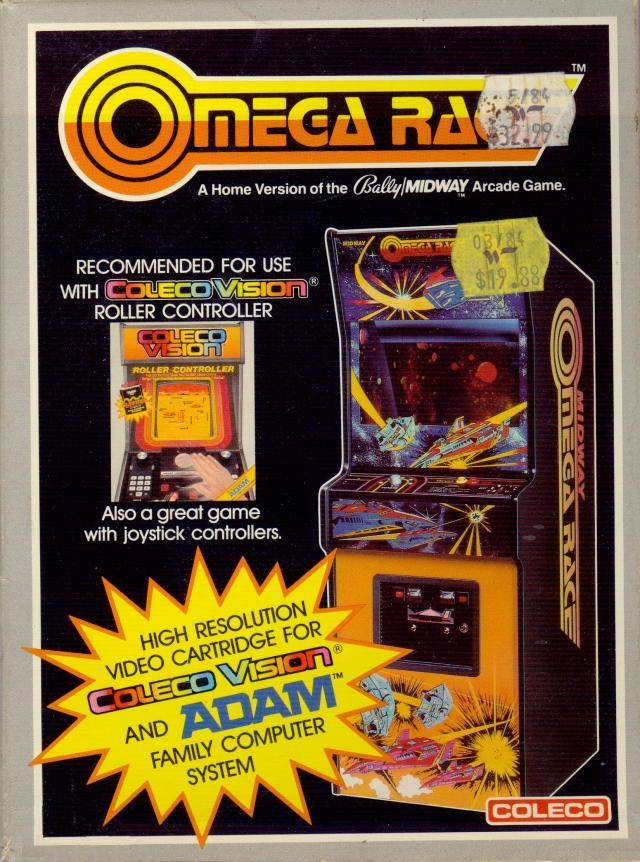 Omega Race - Colecovision | Retro1UP Game