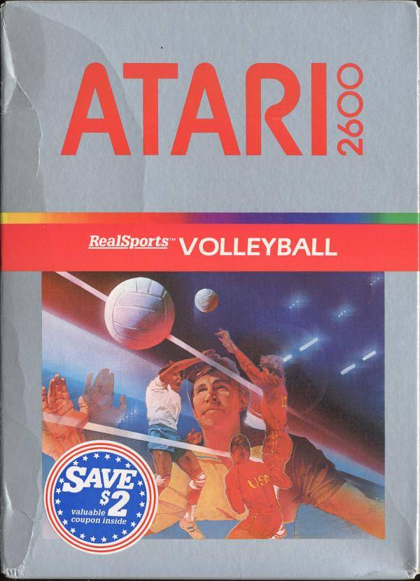 RealSports Volleyball - Atari 2600 | Retro1UP Game